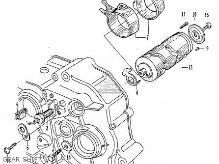 Exploded Views Parts List 4into1 Com Vintage Honda