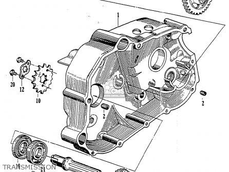 Honda CZ100 parts lists and schematics