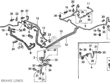Honda DEL SOL 1993 (P) 2DR S (KA,KL) parts lists and