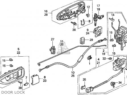 Volvo V70 Door Parts Diagram. Volvo. Automotive Wiring Diagram