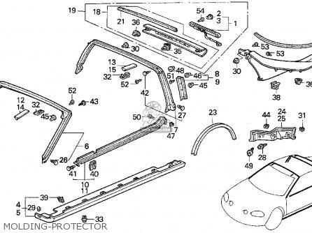 1995 Honda Del Sol Si Fuse Box Diagram. Honda. Auto Fuse