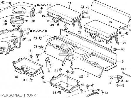 Honda DEL SOL 1995 (S) 2DR S (KA) parts lists and schematics