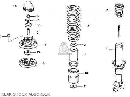 Honda DEL SOL 1995 (S) 2DR SI (KA) parts lists and schematics