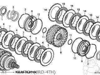 Honda ELEMENT 2004 (4) 5DR EX 4WD (KA) parts lists and