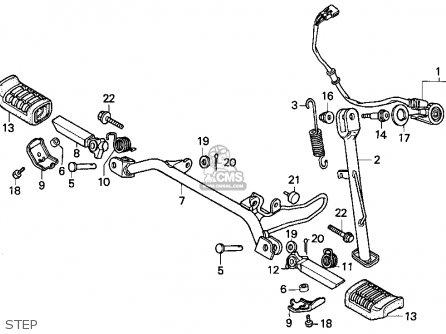Honda Ez90 1992 (n) Usa parts list partsmanual partsfiche
