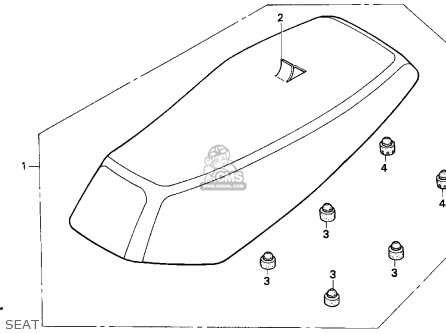 Honda Ez90 1992 Usa parts list partsmanual partsfiche