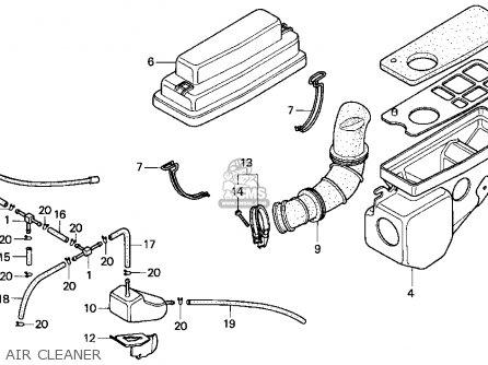 Honda Ez90 1995 (s) Usa parts list partsmanual partsfiche