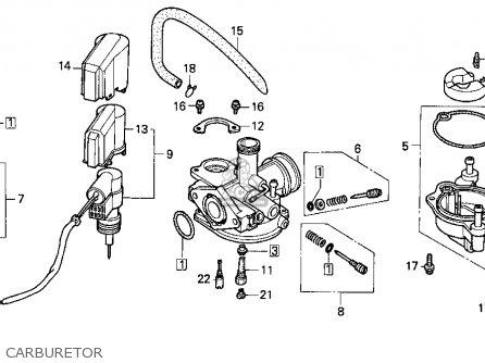 Honda Ez90 1996 (t) Usa parts list partsmanual partsfiche
