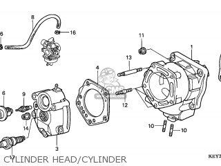 Honda Fes125 Pantheon 1998 (w) France Cmf Kph parts list