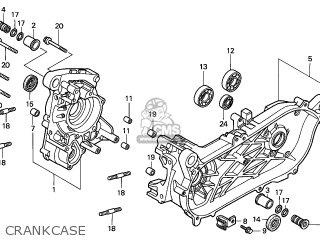 Honda Fes150 Pantheon 1998 Austria / Kph parts list
