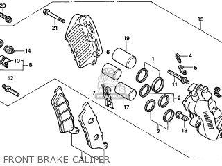 Honda FES250 FORESIGHT 1998 (W) FRANCE CMF KPH parts lists