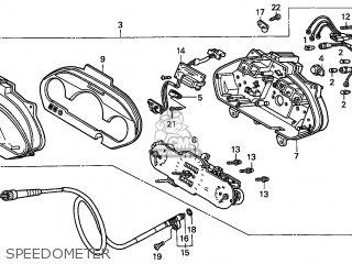 Honda FES250 FORESIGHT 1999 (X) FRANCE CMF KPH parts lists