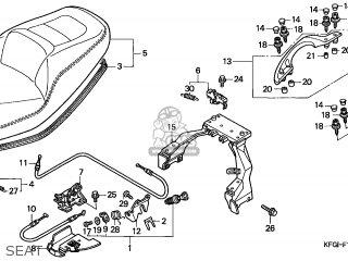 Honda FES250 FORESIGHT 2002 (2) SWITZERLAND parts lists