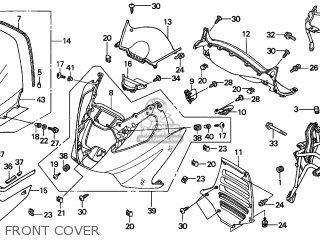 Honda FJS600 SILVER WING 2001 (1) EUROPEAN DIRECT SALES