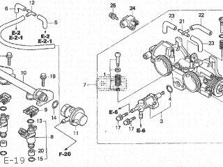 Honda Fjs600 Silver Wing 2001 (1) Japan Pf01-100 parts