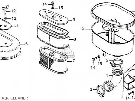 Honda Fl250 1981 (b) Usa parts list partsmanual partsfiche