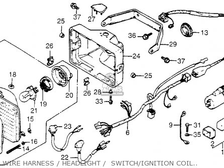 Honda Fl250 1982 (c) Usa parts list partsmanual partsfiche
