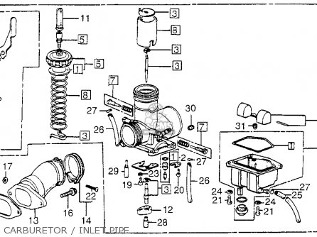Honda FL250 ODYSSEY 1977 USA parts lists and schematics