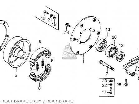 Honda FL250 ODYSSEY 1977 USA parts lists and schematics