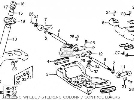 Honda Fl250 Odyssey 1977 Usa parts list partsmanual partsfiche
