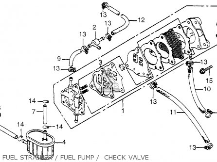 Honda Odyssey Fl250 Fuel Line Diagram, Honda, Free Engine