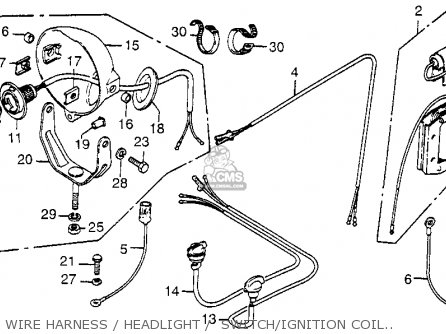 Honda Fl250 Odyssey 1979 Usa parts list partsmanual partsfiche