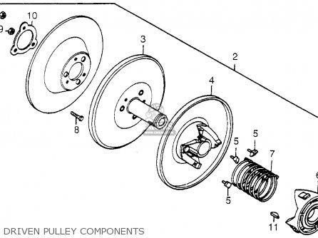 Honda Fl250 Odyssey 1979 (z) Usa parts list partsmanual
