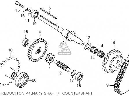 Honda Fl250 Odyssey 1980 (a) Usa parts list partsmanual