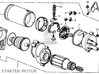 Honda Fl350r Odyssey 350 Usa parts list partsmanual partsfiche