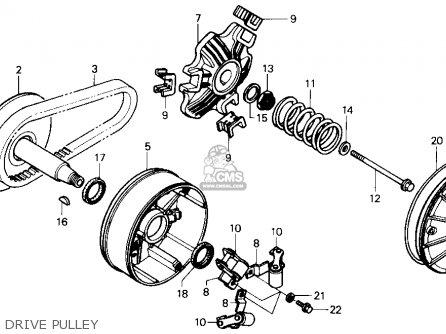 Honda Fl400r Pilot 1989 Usa parts list partsmanual partsfiche