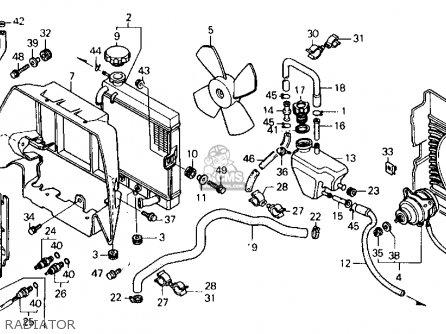 Honda Fl400r Pilot 1990 (l) Usa parts list partsmanual