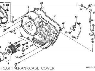 Honda FMX650 2006 (6) ENGLAND / MKH parts lists and schematics