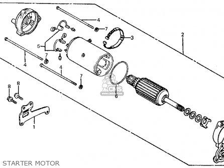 Honda FT500 ASCOT 1982 (C) USA parts lists and schematics