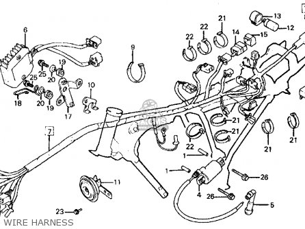 Honda FT500 ASCOT 1982 (C) USA parts lists and schematics