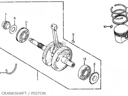 Honda Ft500 Ascot 1983 (d) Usa parts list partsmanual