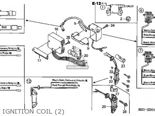 Honda G200\LT\148830E5 parts lists and schematics