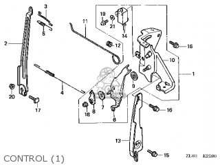 Honda GC135E\QFJ\14ZL81E4 parts lists and schematics