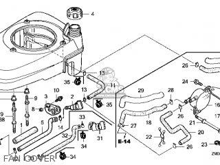 Honda GCV135\A2E\14ZM01E4 parts lists and schematics
