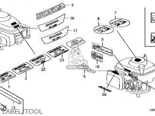 Honda GCV135\A3E\14ZM01E4 parts lists and schematics