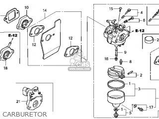Honda GCV135\N7E1\14ZM01E4 parts lists and schematics