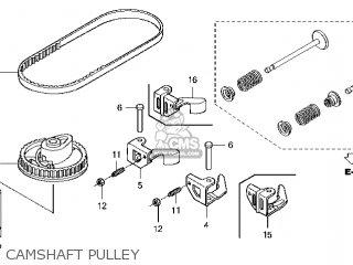 Honda GCV160\A7E1\14ZM01E4 parts lists and schematics