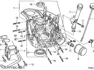 Honda Gcv520\qea1_a\14z0a0e7 parts list partsmanual partsfiche