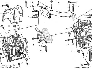 Honda Gcv520\qea1_a\14z0a0e7 parts list partsmanual partsfiche