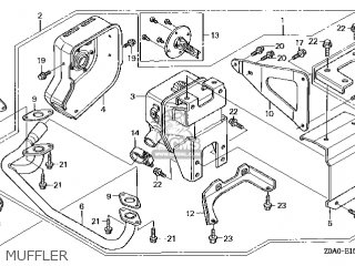 Honda GCV530\QXA4\14Z0A0E7 parts lists and schematics