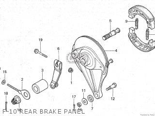 Honda Gl100 1981 (b) Malaysia parts list partsmanual