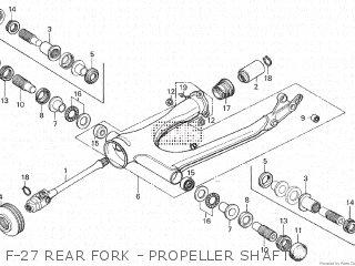 Honda GL1000 1979 (Z) parts lists and schematics