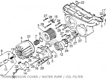 Honda Gl1000 Gold Wing 1976 Usa parts list partsmanual