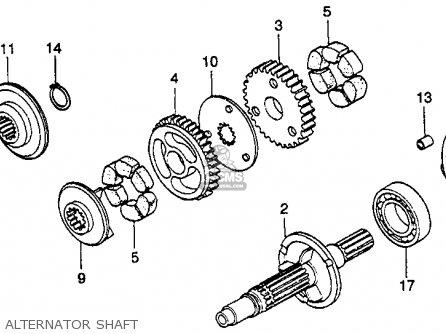 Honda Gl1000 Gold Wing 1978 Usa parts list partsmanual
