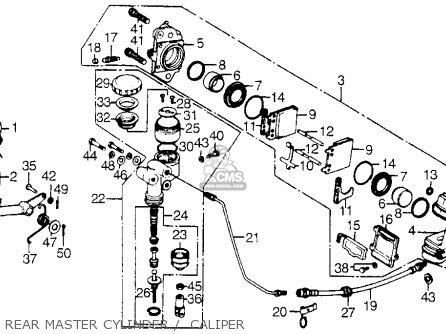 Honda Gl1000 Gold Wing K0 1975 Usa parts list partsmanual