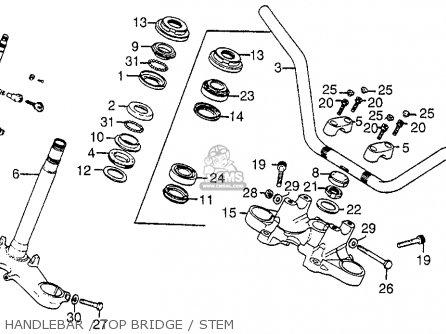 Honda GL1000 GOLDWING 1976 USA parts lists and schematics